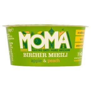 Moma bircher muesli apple & peach