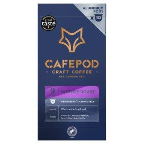 Cafépod Intense 10 Capsules Strength 9