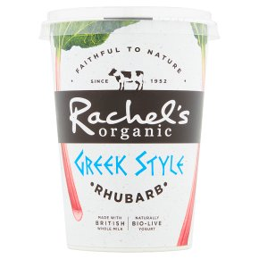 Rachel's Greek Style Rhubarb Yogurt