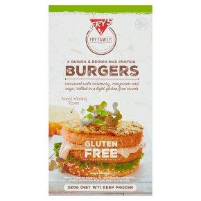 Frys FRZ VE Rice & Quinoa Burgers
