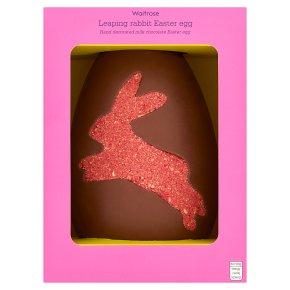 Waitrose Leaping Rabbit Easter Egg
