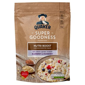 Quaker Super Goodness Porridge Blueberry Cranberry