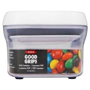 Oxo Good Grips pop 0.5 litre rectangular container