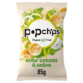 Popchips potato chips - sour cream & onion