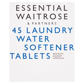 essential Waitrose Laundry Water Softener Tablets
