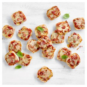 Mini Cheese & Ham Panini Pizzas