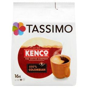 Tassimo Kenco 100% Colombian 16s