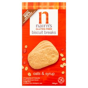 Nairn's oats & syrup