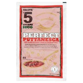 Taste #5 Umami Sugo Perfect Puttanesca