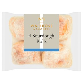 Waitrose 1 Sourdough Rolls