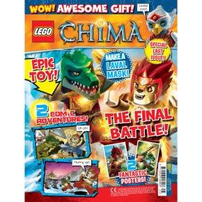 Lego Legends of Chima magazine