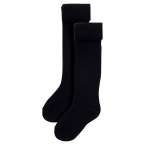 Waitrose 2pk Black tights size: 3-4yrs