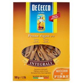 De Cecco Whole Wheat Penne Rigate