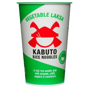 Kabuto Rice Noodles Vegetable Laksa