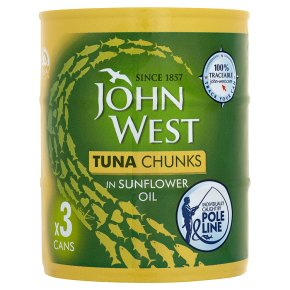 John West Tuna Chunks in Oil Pole Line