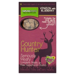 Country Hunter complete meals venison blueberry