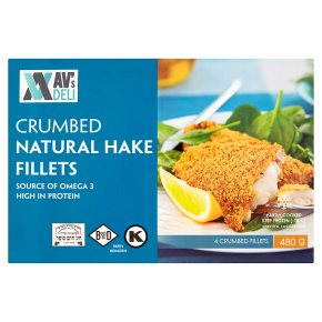 AV's Deli Crumbled Natural Hake Fillets