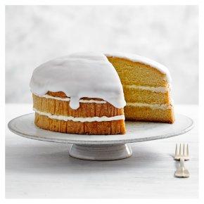 Lemon Drizzle Triple Layer Cake