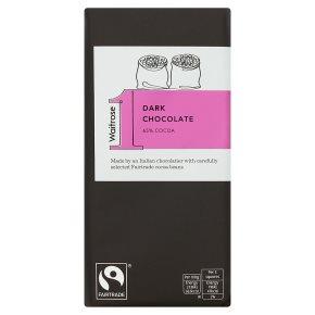 Waitrose 1 rich dark chocolate
