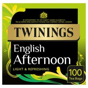 Twinings English afternoon 100 tea bags