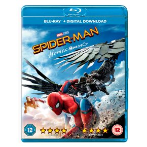 Blue Ray DVD Spiderman Homecoming