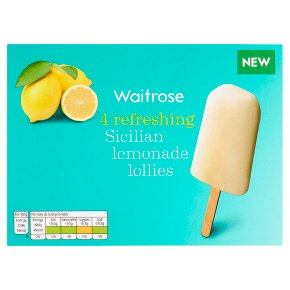 Waitrose Sicilian Lemonade Lollies