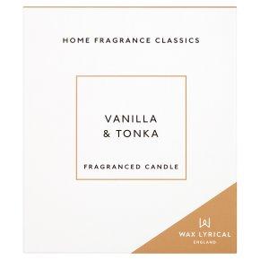 Wax Lyrical Vanilla & Tonka
