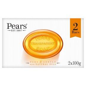 Pears transparent soap