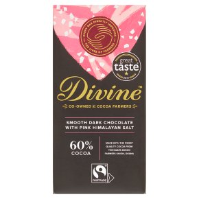 Divine Dark Chocolate with Himalayan Salt
