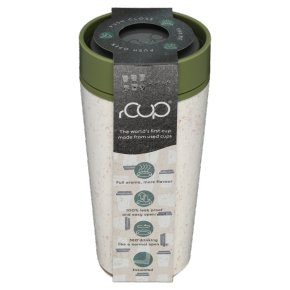 rCUP Leakproof Travel Cup White/Green