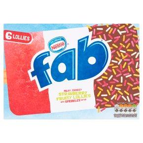Nestlé fab strawberry 6s