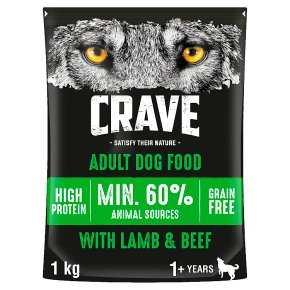 Crave Dog with Lamb & Beef