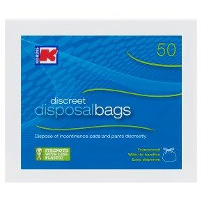 Kordis Discreet Disposal Bags