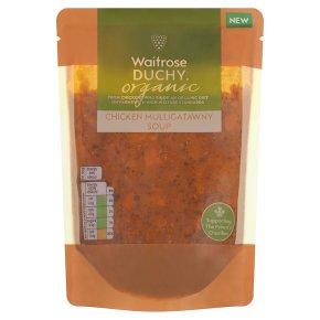 Waitrose Duchy Organic chicken mulligatawny soup