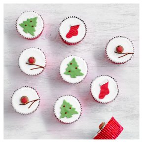 12 Fiona Cairns Festive Cupcakes