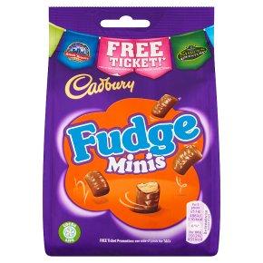 Cadbury Fudge Minis Chocolate Bag