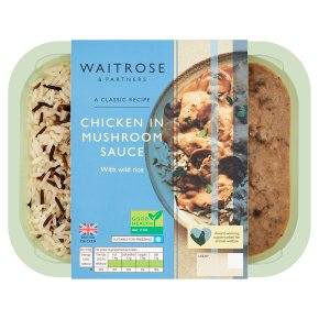 Waitrose Classics Chicken in Mushroom Sauce
