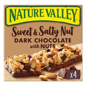 Nature Valley Sweet and Salty Nut Dark Chocolate, Peanut & Almond Cereal Bars