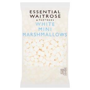 essential Waitrose Mini White Marshmallows