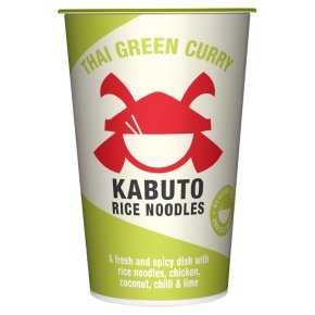Kabuto Thai Green Chicken Curry Rice Noodles