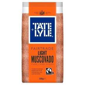 Tate & Lyle Fairtrade Light Muscovado Sugar