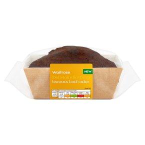 Waitrose Delicious & Sticky Banana Loaf Cake