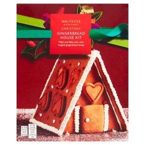 Waitrose Gingerbread House Kit