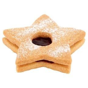 Jammy Shortbread Star Biscuit
