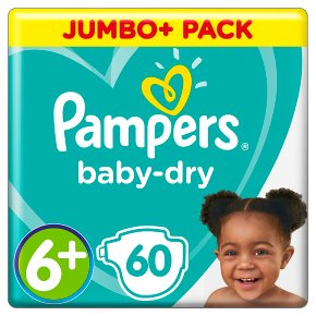 Pampers Baby-Dry 16+kg Size 6+