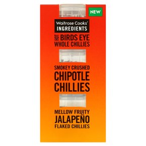 Waitrose CI chilli selection pack