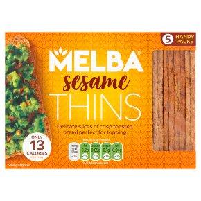Van Der Meulen Sesame Melba Thins