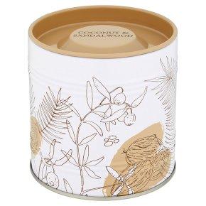 Flower Garden Coconut Candle Tin