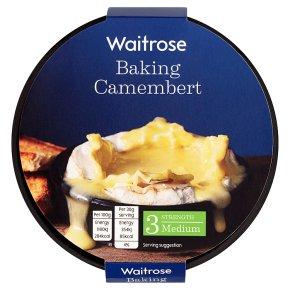 Waitrose baking French camembert cheese (medium)