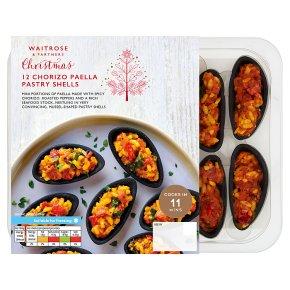 Waitrose Chorizo Paella Pastry Shells